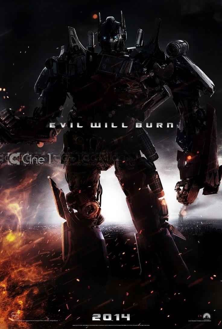 MkScreen: Primer Poster de 'Transformers 4' con Optimus Prime
