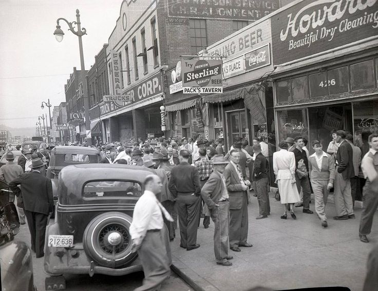 Downtown Chattanooga 1950's