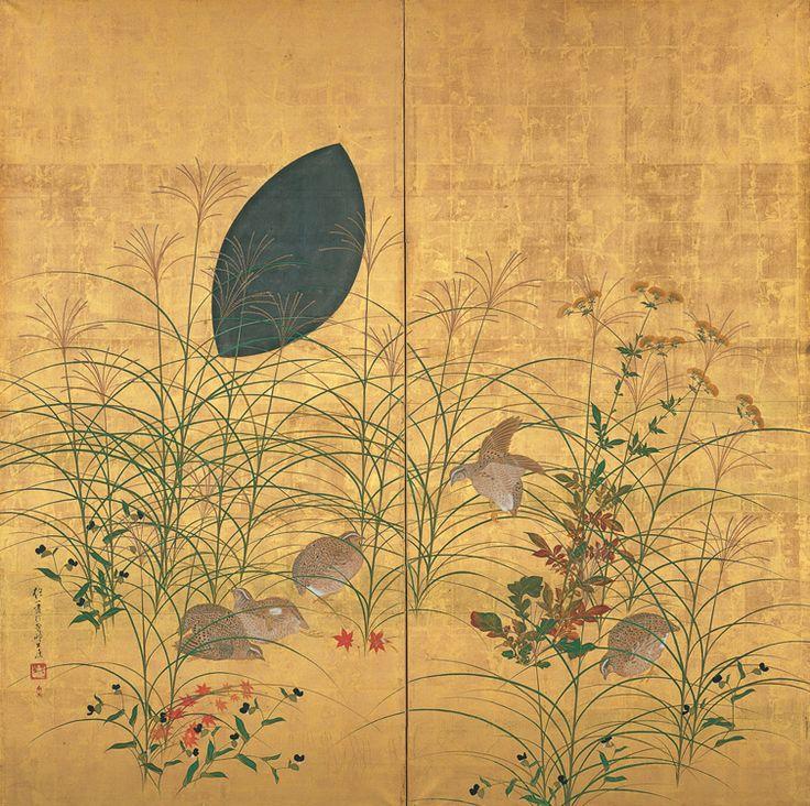 酒井抱一  http://www.yamatane-museum.jp/image/collection/collection_02.jpg