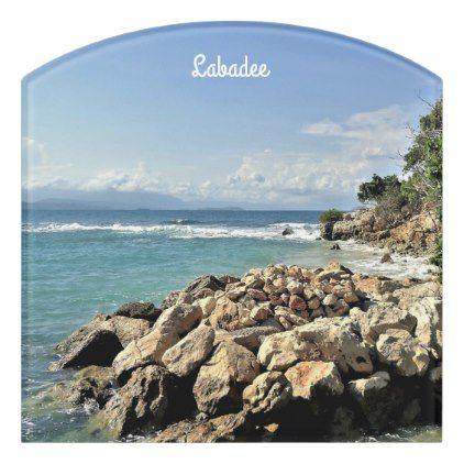 Scenic Labadie Coastline Door Sign  $29.50  by CruiseReady  - cyo customize personalize diy idea