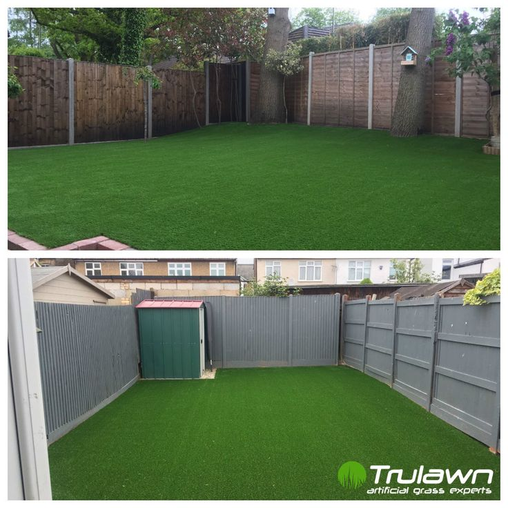 Picture perfect and practical, these lovely gardens shine with Trulawn Luxury! ✨ #ArtificialGrass #LowMaintenanceGarden #GardenImprovement #FamilyGarden