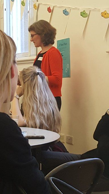 """Sarah Bennett: """"Thank you @SHinchliffeLTHT and @lisamulherin for supporting #LeedsMatStrat bereavement workshop today @LTHTrust @WhoseShoes Fantastic, moving, collaboration with Mums and all our partners!!"""""""