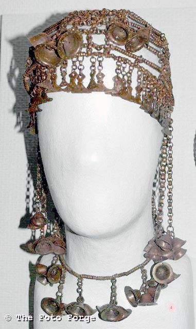 Headdress from the Iron Age in Latvia