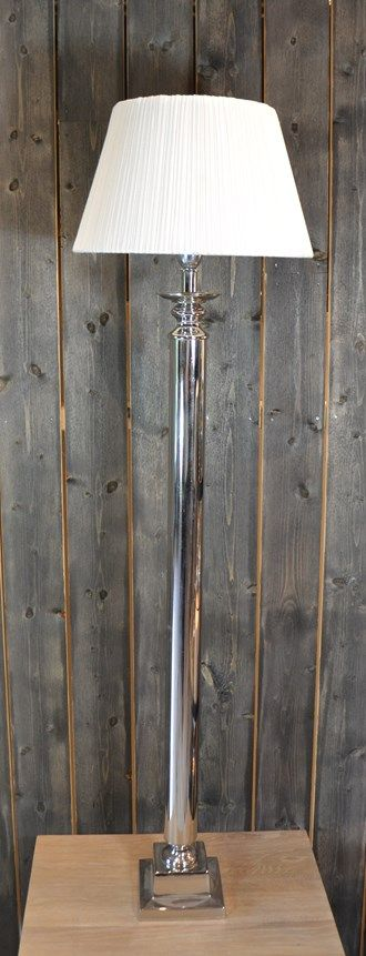 LAMP NICKEL PLATED 140CM