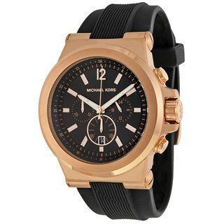Michael Kors Men Rose Gold Tone Watch