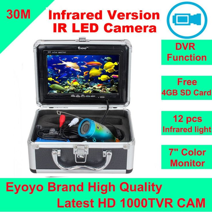 Eyoyo Original 30M 1000TVL HD CAM Professional Fish Finder