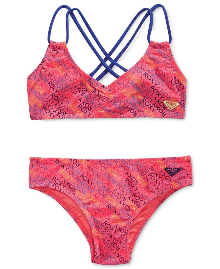 Roxy Little Girls' 2-Pc. Roxy Ready Bikini Swimsuit