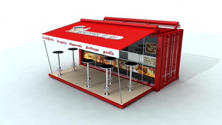 Hotbox mobile restaurant / kitchen Restaurant kitchen