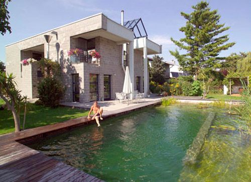 Natural no chemical swimming pool