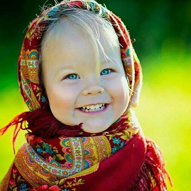 Linda con sonrisa bendita.