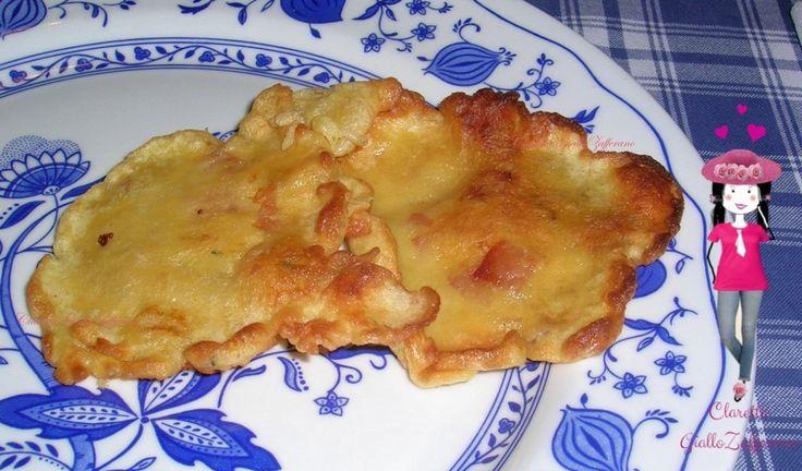 Frittata+alla+mortadella,+Nuvole+fritte+all'uovo,+Ricetta+facile