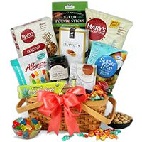 31 best graduation day gift baskets images on pinterest gift sugar free gift basket 8999 negle Images