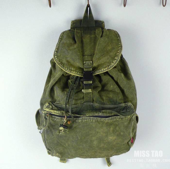 #canvas bag, #green