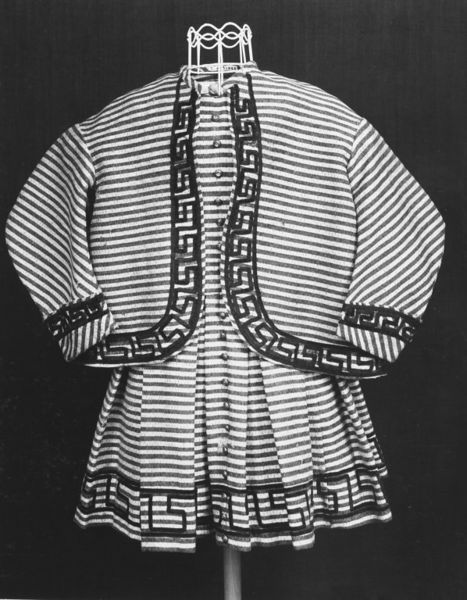 Child's [boy's] dress and coat, 1860