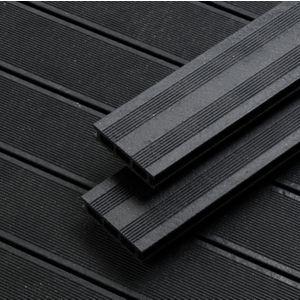 Rothley Terra Black Composite Decking Pack Of 10