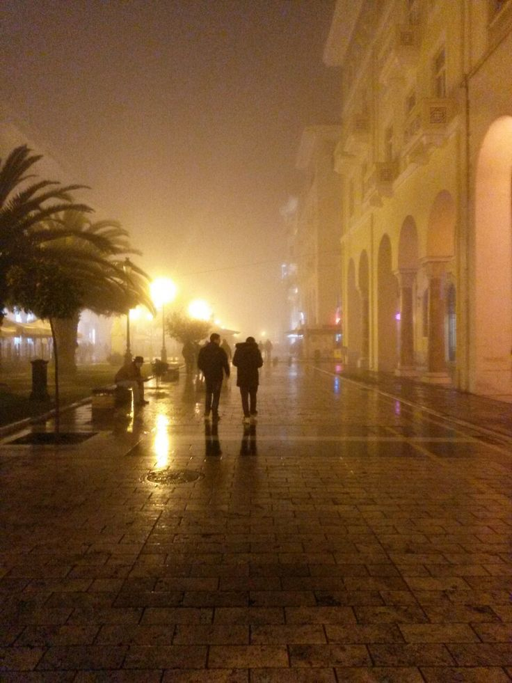 its–teo: Foggy Day - Aristotelous Square Magic place for me