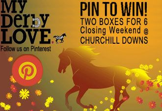 "Win 1 of 2 boxes for 6 to Churchill Downs for Closing Weekend!  ***Follow MyDerbyLove.com on Pinterest  ***Create a board called ""Autumn N'Spires"" & pin your fall favorites ****Use #MyDerbyLove in the board description so we can see all entries! ****Email us the link to your pin board at 411@myderbylove.com  We will select 2 winners on Sept. 24"