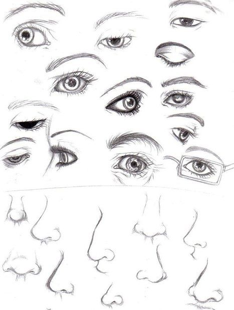 Line Drawing Nose : Best images about sketch eyes lips ears nose on