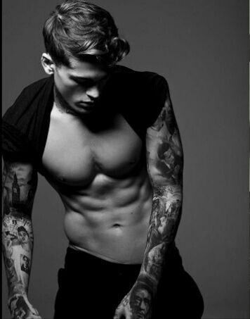 """I like boys with tattoos with a badass attitude."""