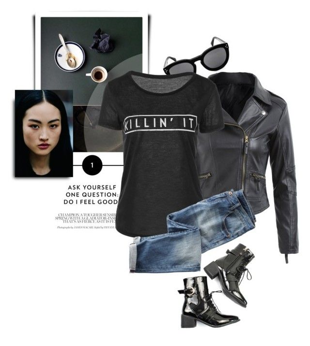 """Killin' It"" by monmondefou ❤ liked on Polyvore featuring Wrap"