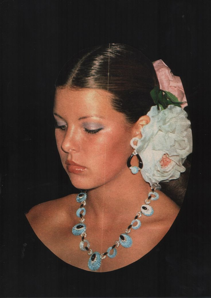 Princess Caroline of Monaco at the Red Cross Ball.1975.