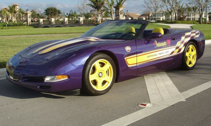 1998 Corvette Indy Pace Car Convertible....I love these