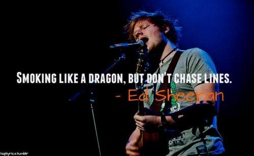 """Homeless"" by Ed Sheeran"