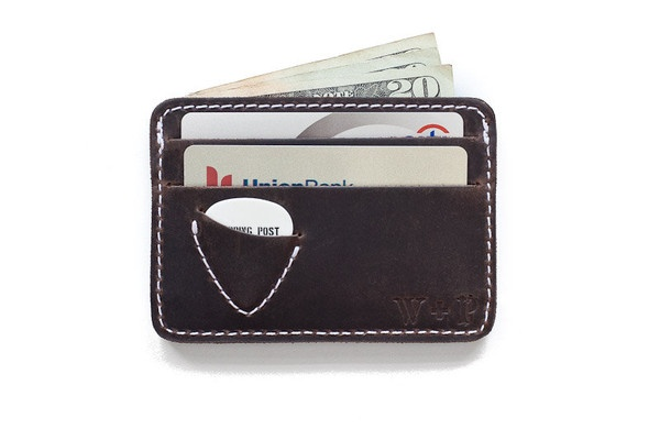 Awesome wallet. Always ready to rock out! Now if they only made one for drumsticks...