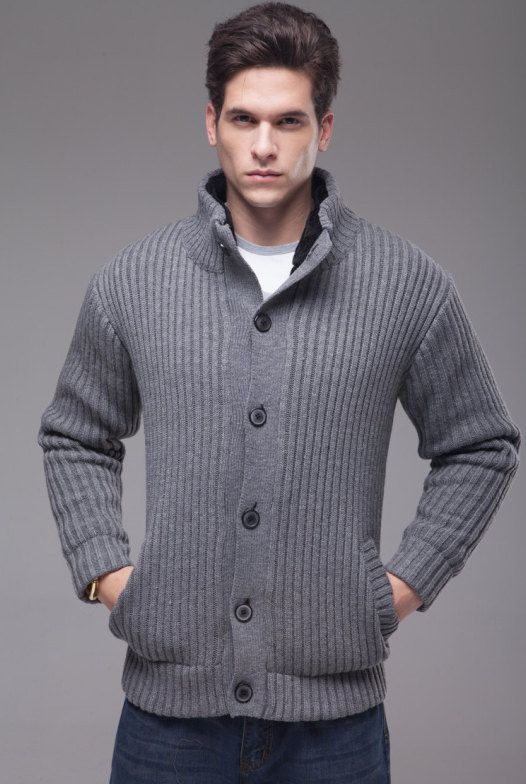 Ribbed Sweaters For Men - Baggage Clothing