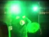 This outdoor dubstep concert uses the Kinect to control and power stunning visual displays.