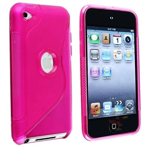 """Keep your Apple® iPod touch® 4th Generation safe and protected in style with this TPU rubber skin case accessory Slip your MP3 player in to add a splash of color Delivers instant... More Details"