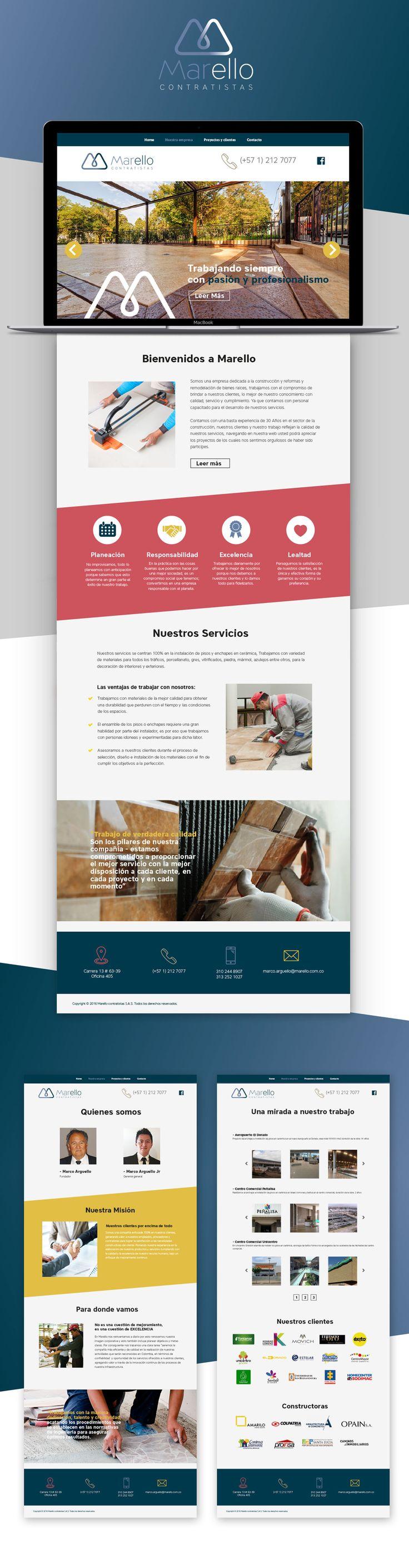 web site Marello.com.co