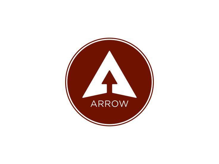 But an arrow inside a house silhouette