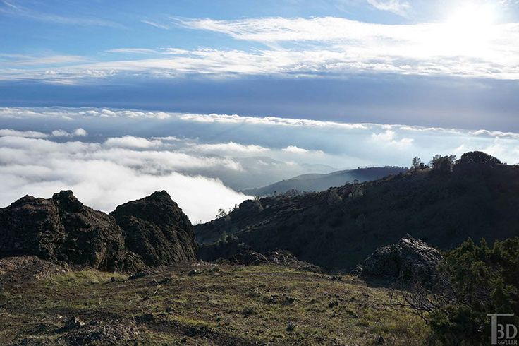 the view from Devil's Gulch, above the clouds