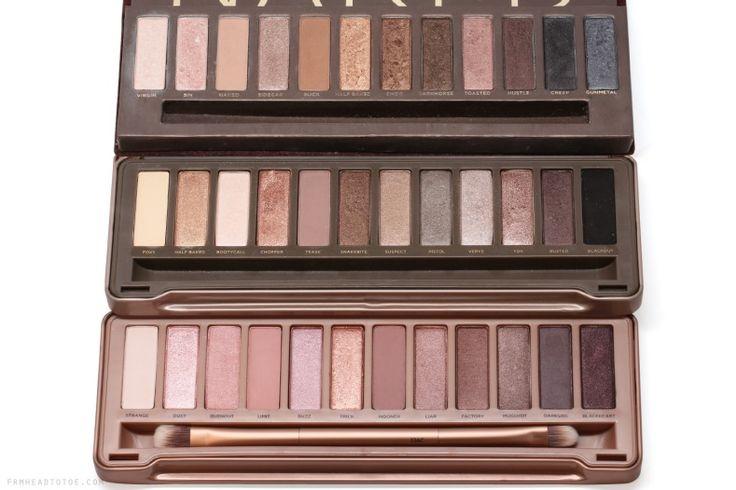 Naked 1, 2 ou 3 : laquelle est faite pour vous ? / Le comparatif !