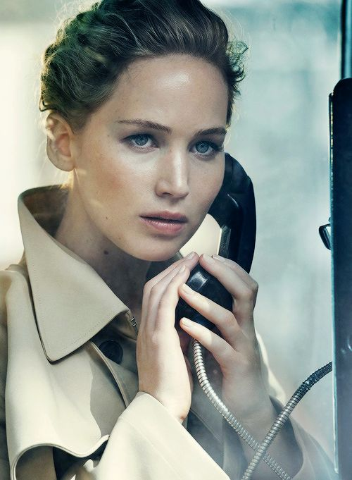 Jennifer Lawrence by Peter Lindbergh for Vanity Fair Holiday 2016/2017