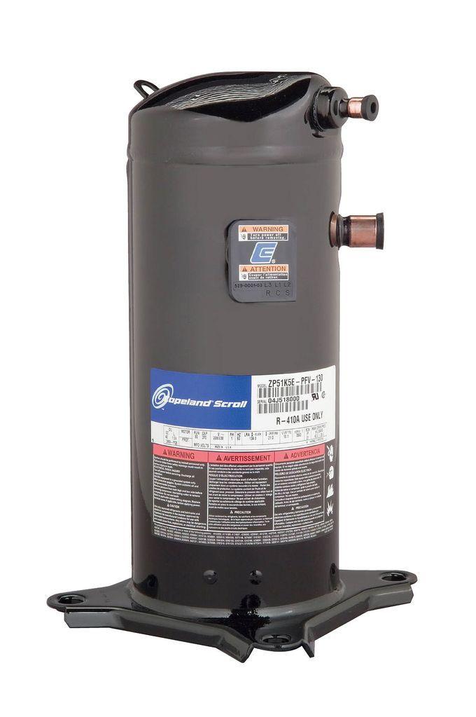 ZR48K5E-TFD-130 Scroll Compressor, 4 Ton, Copeland