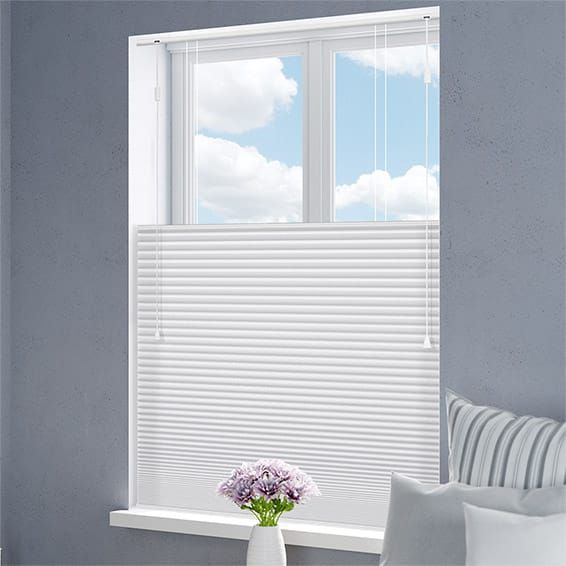 DuoShade Dove Top Down/Bottom Up Thermal Blind