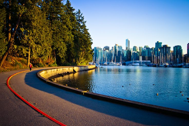 Seawall facing Downtown Vancouver