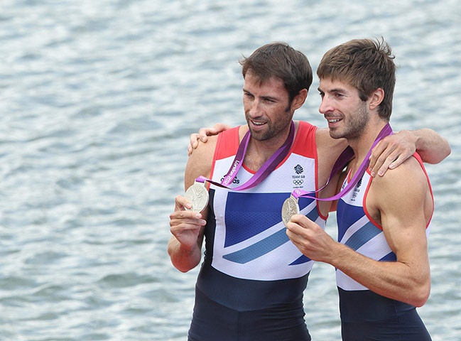 Team GB medals: Zac Purchase and Mark Hunter win silver in the lightweight double sculls