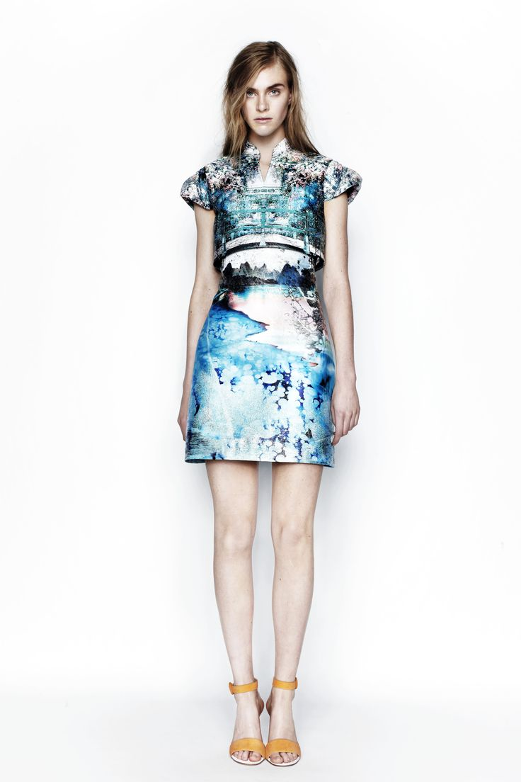 Celebrities who wear, use, or own Mary Katrantzou Resort 2014 Babelona Dress.  Also discover the movies, TV shows, and events associated with Mary  Katrantzou ...