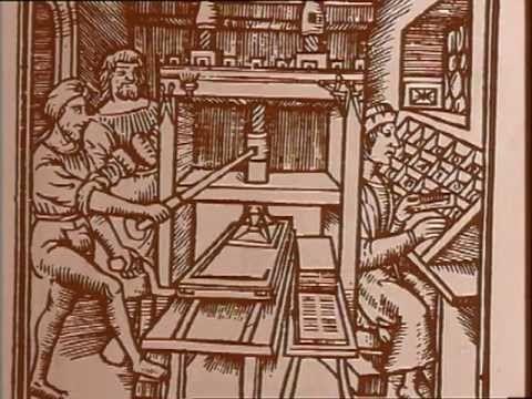 Au milieu du XVe siècle, Gutenberg en réunissant, améliorant et coordonnant des techniques éparses utilisées à d'autres fins, inventa la presse à imprimer, u...