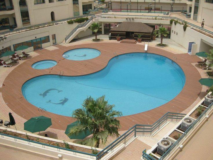 Pool Composite Wood Deck