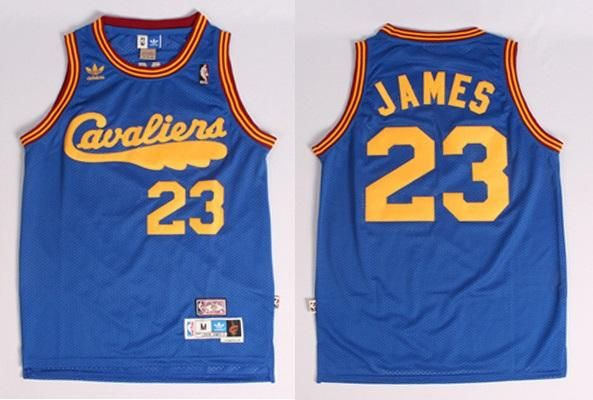 innovative design e8825 3ba2d Mens 23 Lebron James Christmas Jersey Blue Cleveland ...
