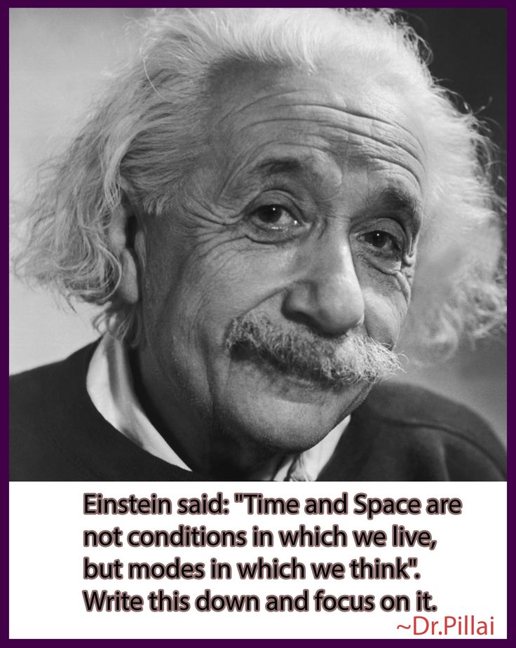 Time and Space are modes in we think.!