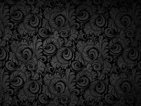 Black Pattern Background | Background Patterns, Black Texture Background,  Black Floral Wallpaper