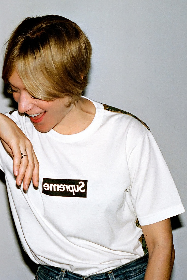 #supreme x #commedesgarcons shirt 2013 capsule collection #ChloeSevigny
