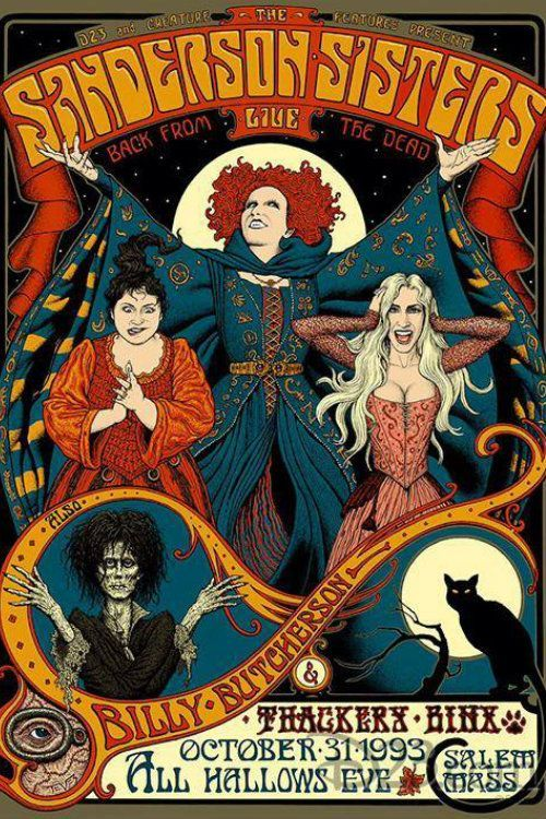 Hocus Pocus (1993) Amazing, watched it with Tue whole school
