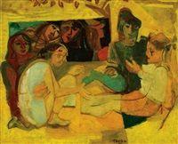 Hra dětí, 1948   Pravoslav Kotík (1889, †1970 v Praze) byl český malíř a grafik.