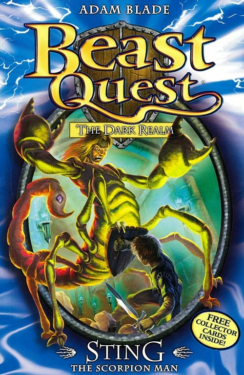 Beast Quest #18: Sting The Scorpion Man - Adam Blade